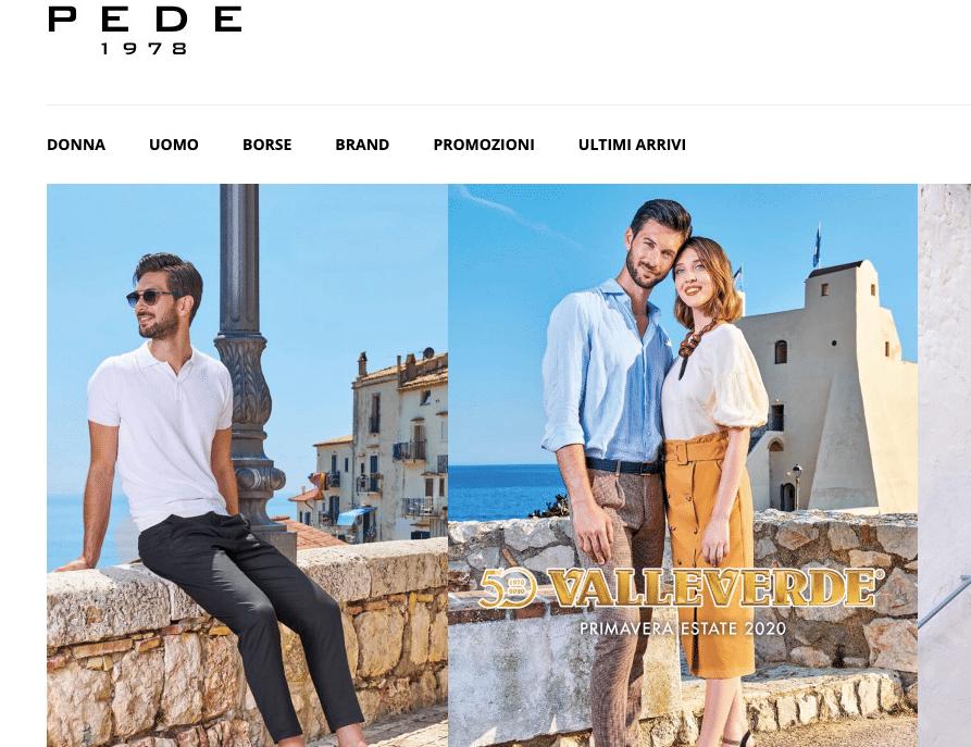 Pede Calzature Shop Online