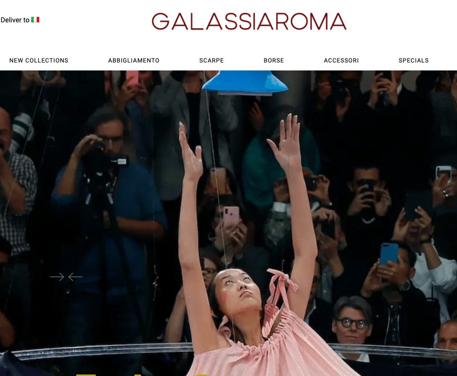 Galassia Roma Avangarde Woman Fashion Shop Online
